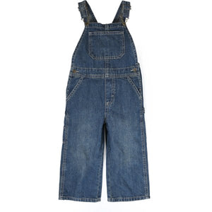 Boys Overall Jeans Cargo Pants - Little N Kute Boutique
