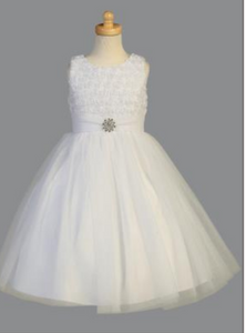 Girls'  Holy First Communion Dress - Little N Kute Boutique