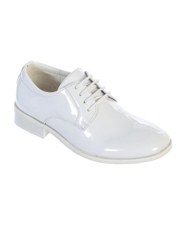 Tip Top Patent Oxford Shoes BS-001 - Little N Kute Boutique