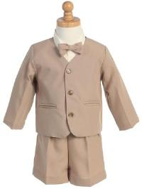 Eton and Shorts Style G740 Khaki   Jacket  Shorts  Set