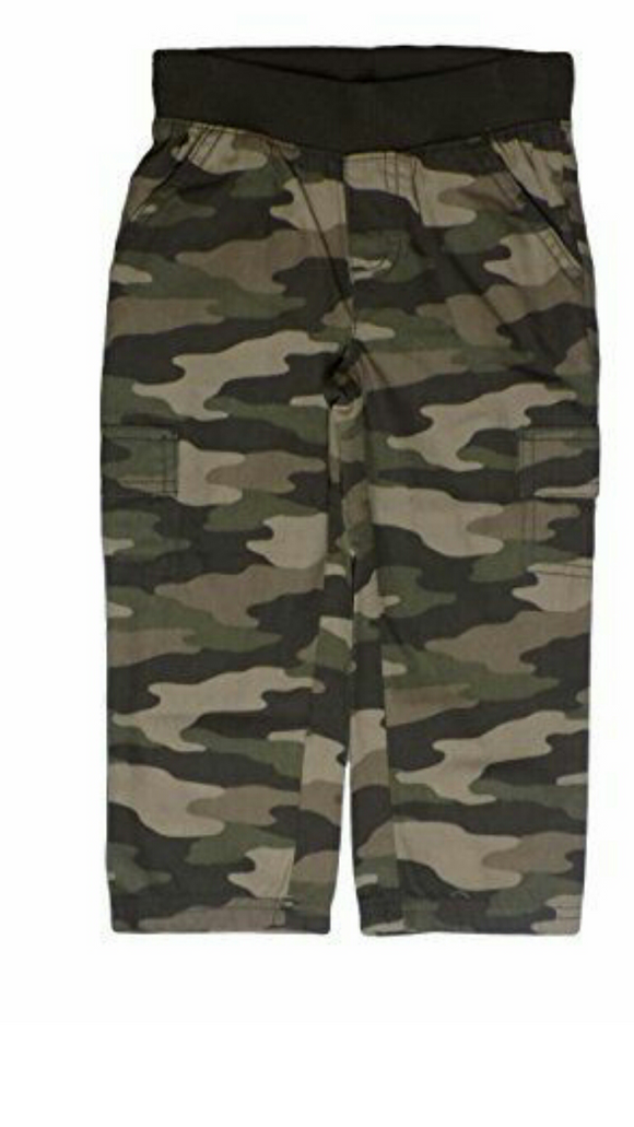 Baby Boys  Camouflage Pants Size 18M-4T - Little N Kute Boutique