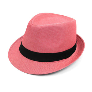 Men's Fedora  Hat with  Band  Herrington - Little N Kute Boutique