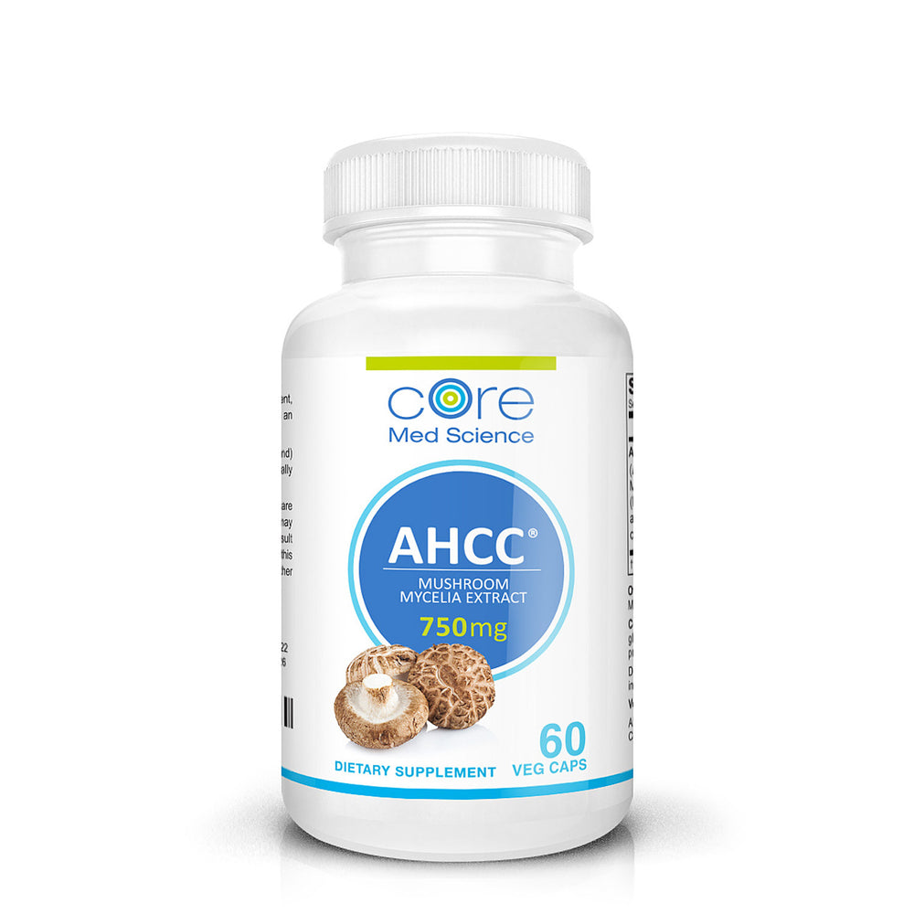 A.H.C.C. Maximum Strength 750 mg/capsule, 60 capsules