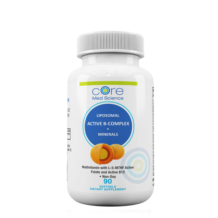 Liposomal Multivitamin with Active B-Complex, Minerals, and