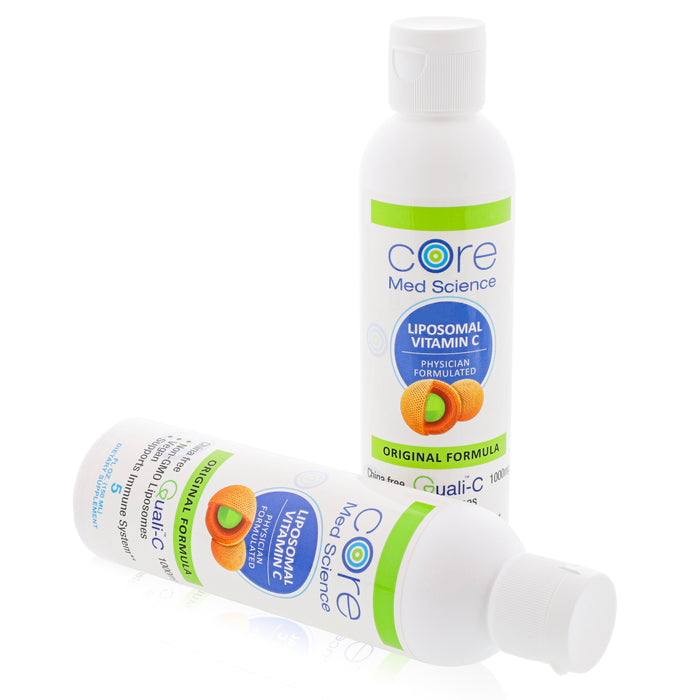 Liposomal Vitamin C Original Orange Formula – Gold Standard Quali®-C Vitamin C from Scotland –Non-GMO – Made in the USA – cGMP -Thirty 1000mg Servings