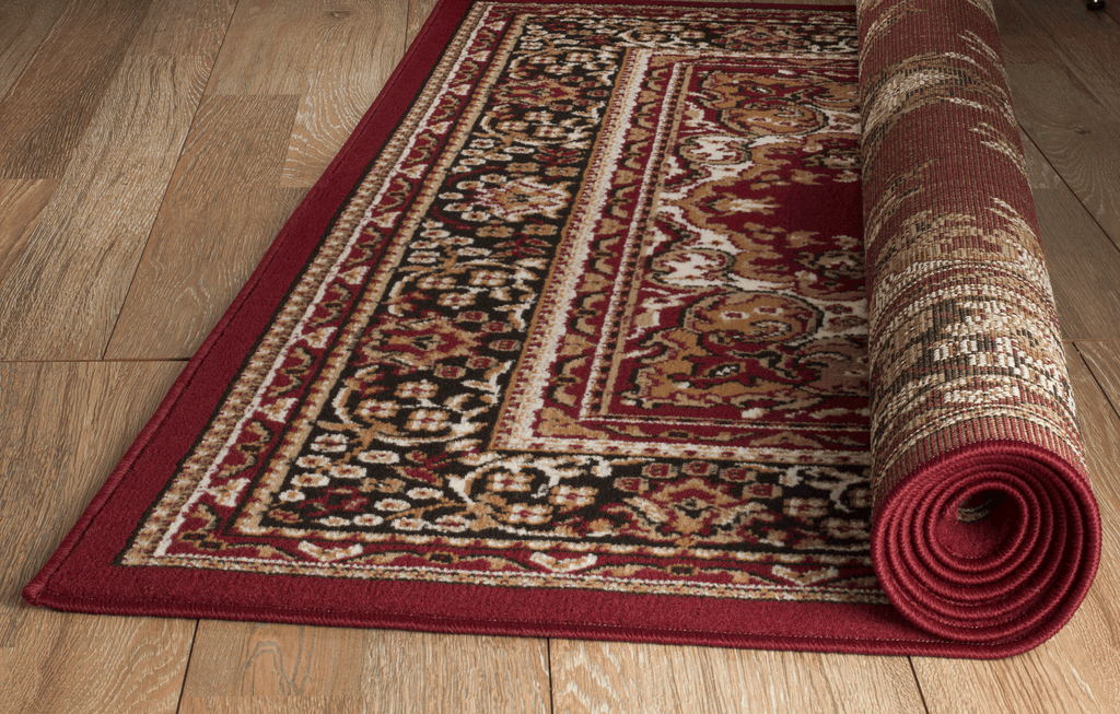 rug amazon dp area rugs quot com modern abstract x burgundy rugshop contemporary