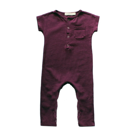 Dark Berry Playsuit