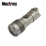 MecArmy PS16 2000 Lumens EDC Flashlight - MecArmy USA