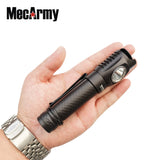 MecArmy FM18 Dual Switch 1000 Lumens Compact Flashlight - MecArmy USA
