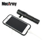 MecArmy MOT10 1000 Lumens CREE XPL-HI USB Rechargeable Powerbank Flashlight