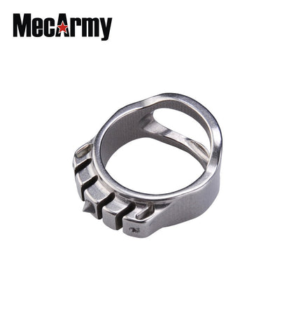 MecArmy SKF3T Tactical Ring and Bottle Opener (With Tritium) - MecArmy USA