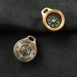 MecArmy CMP Titanium and Brass Compass - MecArmy USA