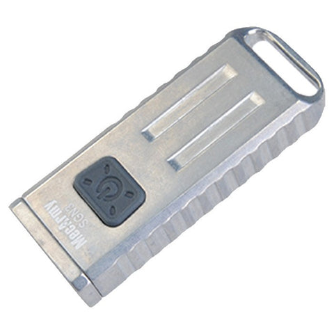 MecArmy SGN3 USB Rechargeable EDC Flashlight (Stonewashed) - MecArmy USA