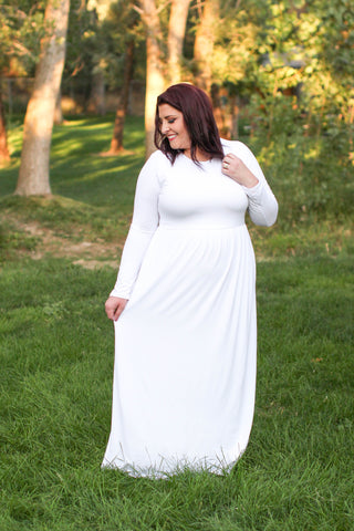 The Iris Temple Dress-Plus Size