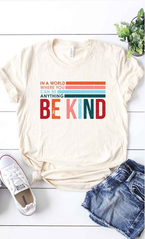 Plus Size Be Kind Graphic T-Shirt