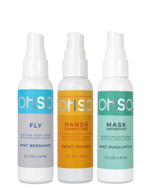 The Travel Set - Fly, Hands, & Mask