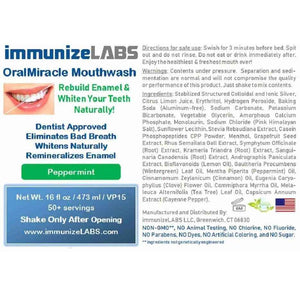 Kit7 (5 OralMiracle +1 FREE) $50 Off + FREE shipping - immunizeLABS