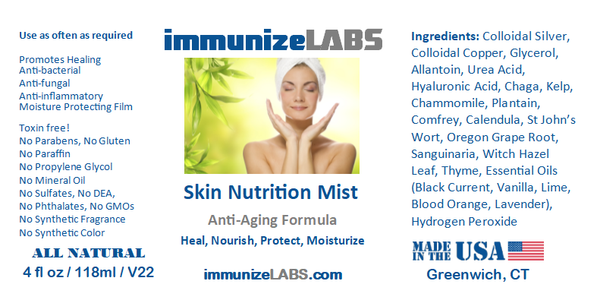 Skin Nutrition Mist - Protect, Nourish and Heal Your Skin