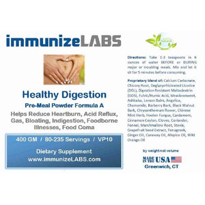 no-GERD Acid Reflux Prevention Formula - immunizeLABS