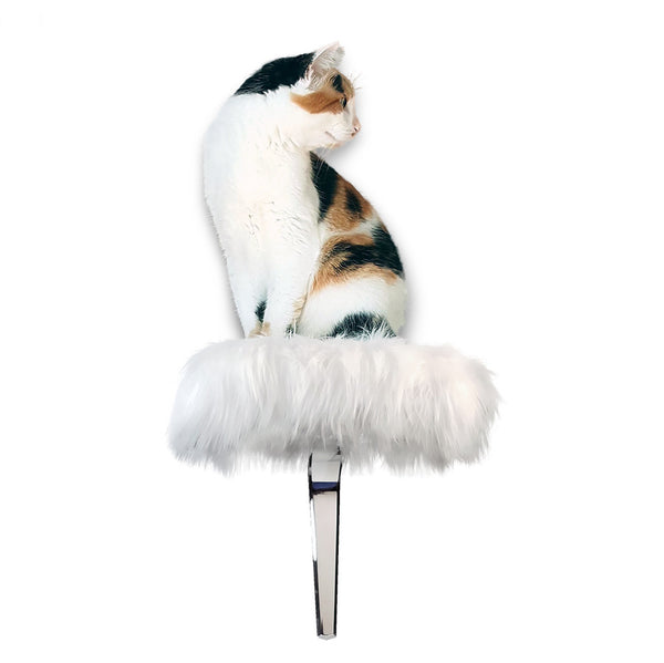 Cat perch. Modern pet furniture. Designer cat furniture.