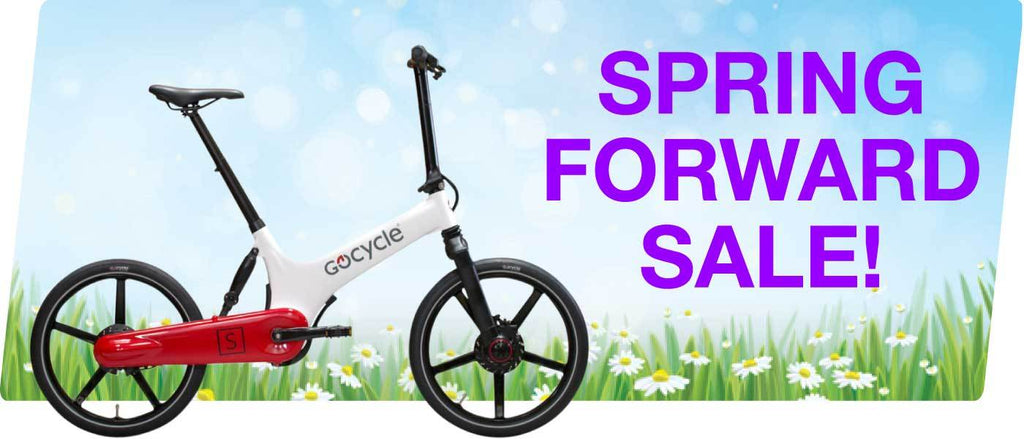 Save Up to 65%! Spring Forward Sale on Electric Bikes