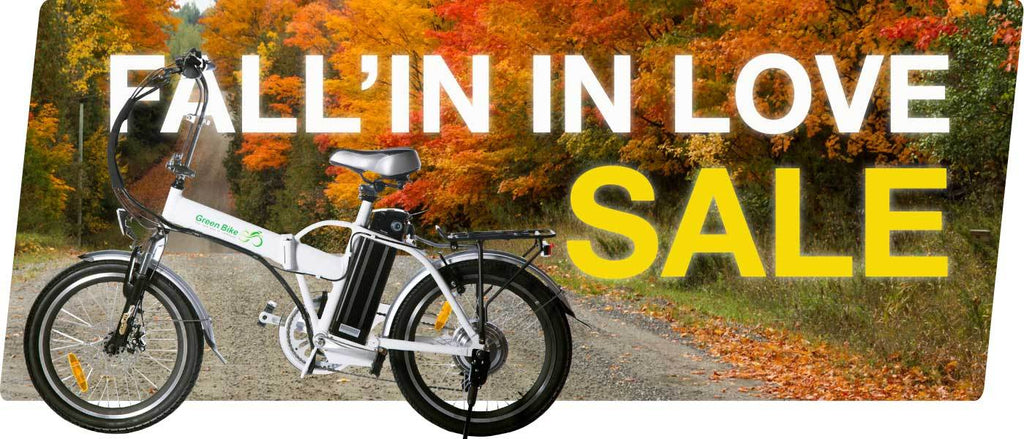 Fall'In In Love Sale on Electric Bikes is Almost Over! Save Now!