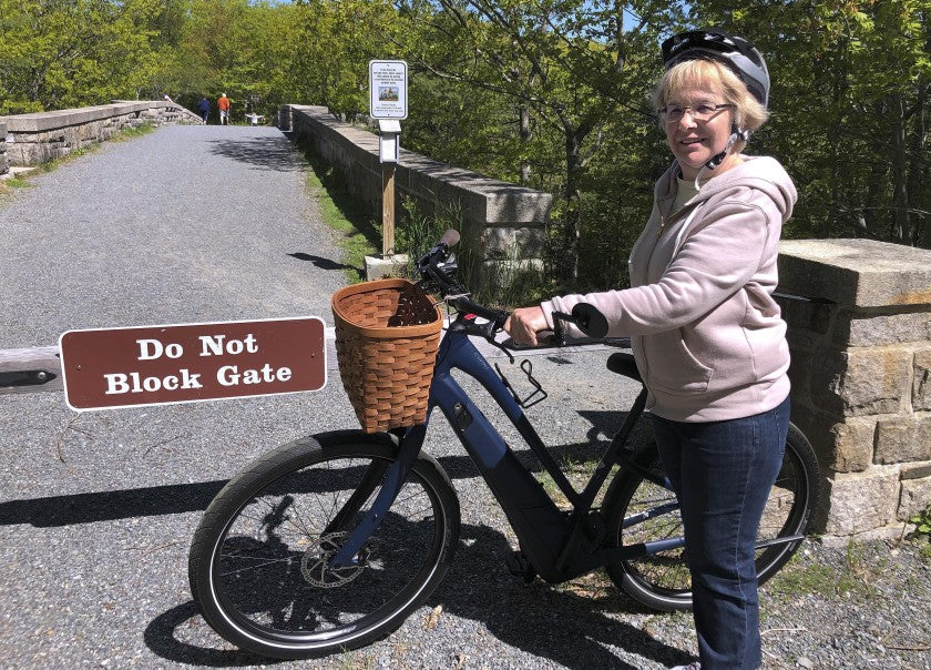 e-bike riding in national parks
