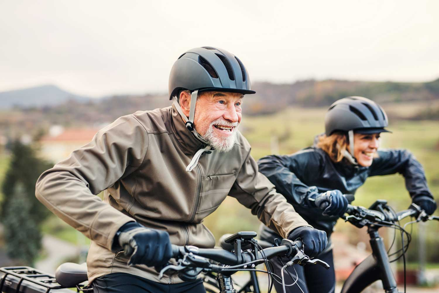 senior electric bike brain boost