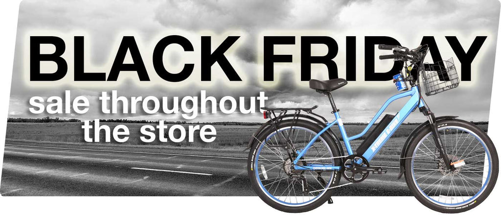 Black Friday Sale on Electric Bikes