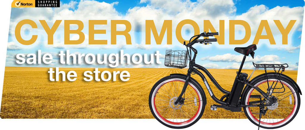 electric bicycle cyber Monday sale