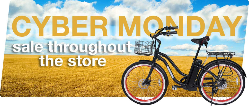 Cyber Monday Sale on Electric Bikes