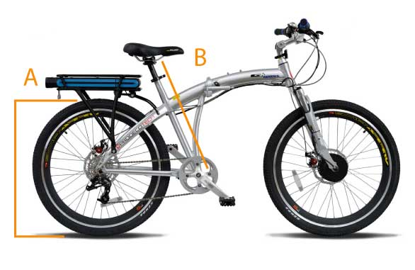 electric bicycle sizing chart