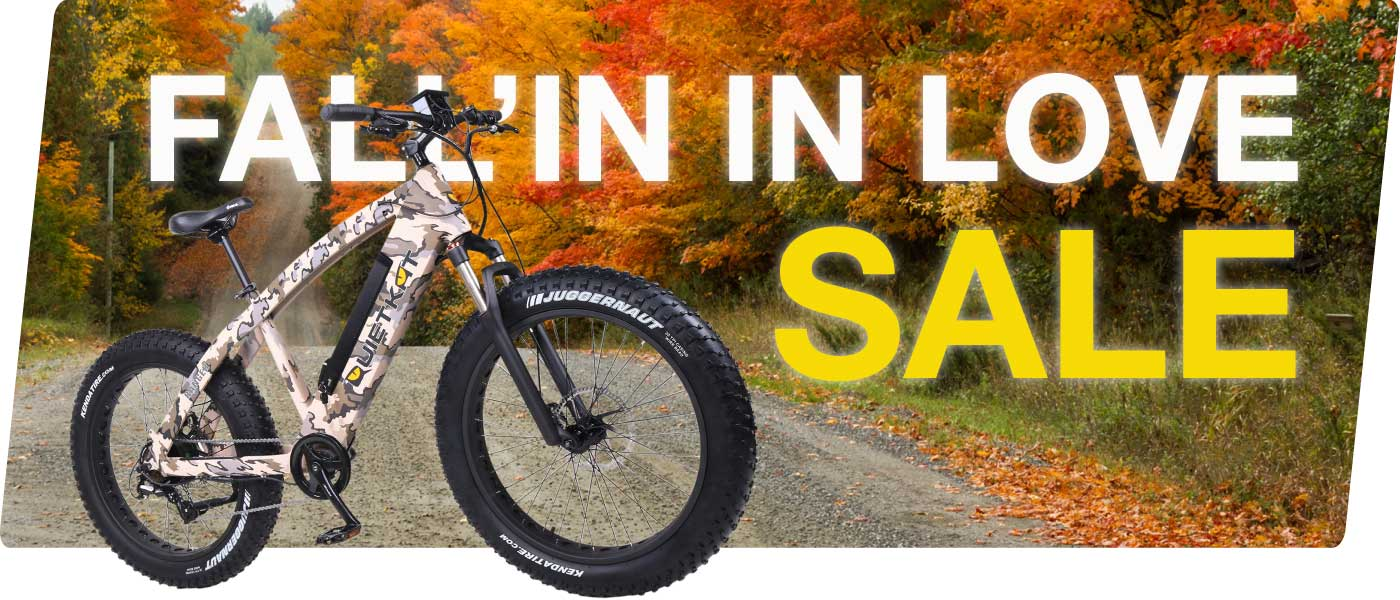 Fall'In In Love Sale on Electric Bikes