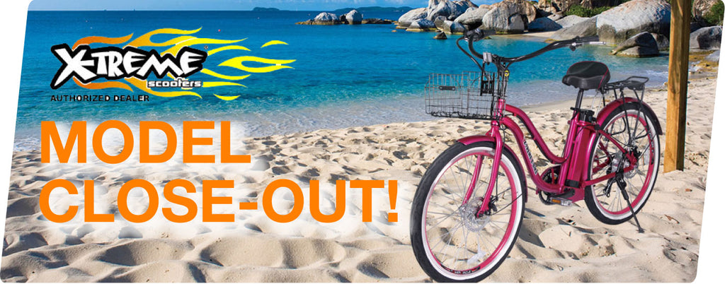 X-Treme Electric Bicycle Sale and Close out!