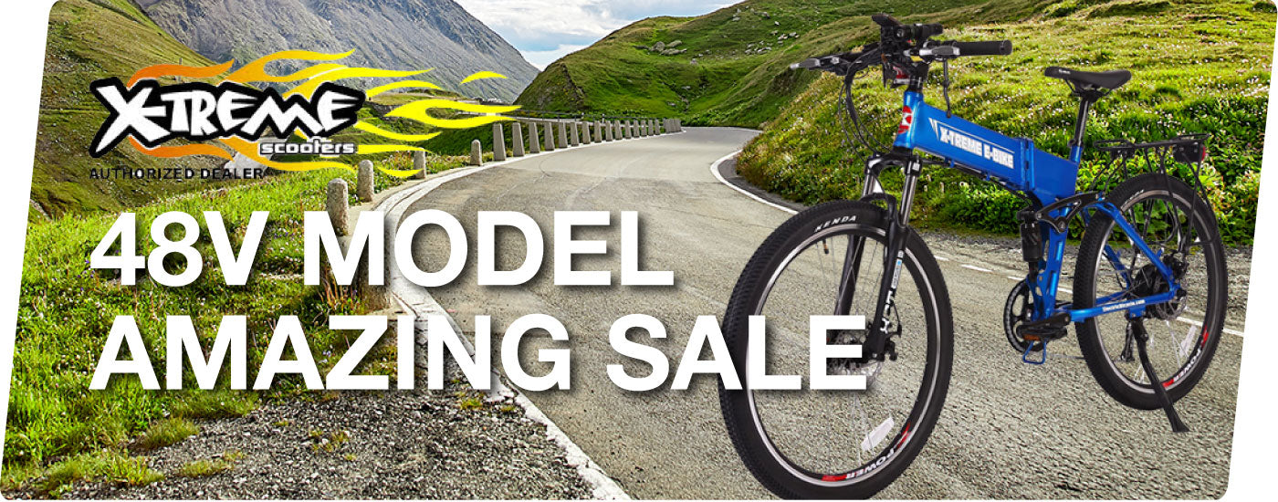 X-Treme Spring Electric Bicycle Sale Blowout!