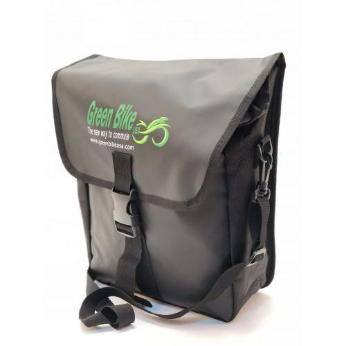 Accessories - Green Bike USA Side Pannier Bag For Electric Bike
