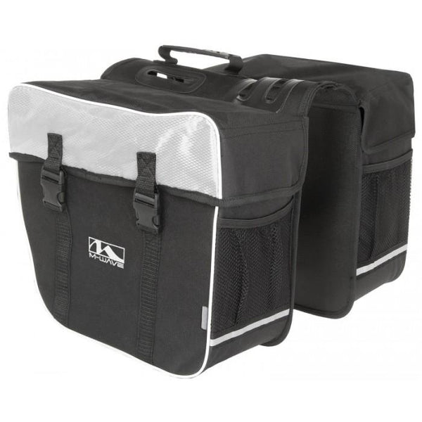 Accessories - M-Wave Amsterdam Double Bicycle Pannier Bags