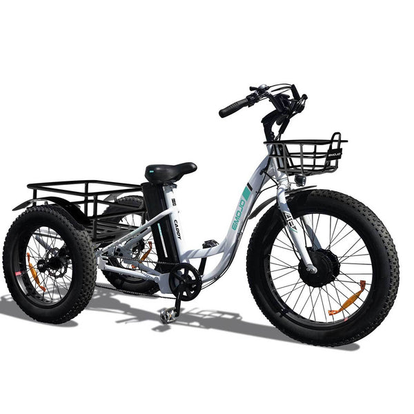 Ebike - Emojo Caddy 48V 500W Trike Cargo Electric Bike