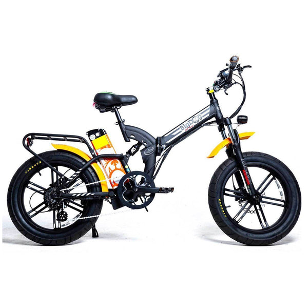 Ebike - Green Bike Electric Motion Big Dog Off Road 48V 750W Folding Electric Bike