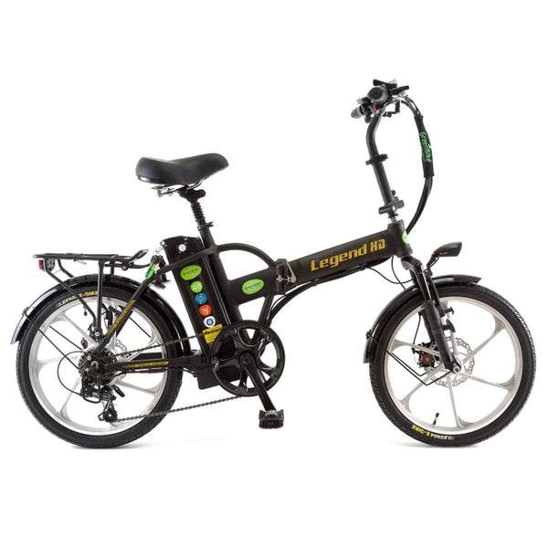 Ebike - Green Bike Electric Motion Legend HD  48V 350W Folding Electric Bike