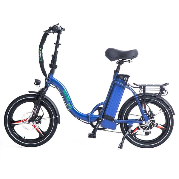 Ebike - Green Bike USA GB500 48V 500W Folding Low Step Electric Bike