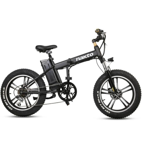 "Ebike - Nakto 20"" Folding 48V 350W Fat Tire Electric Bike"