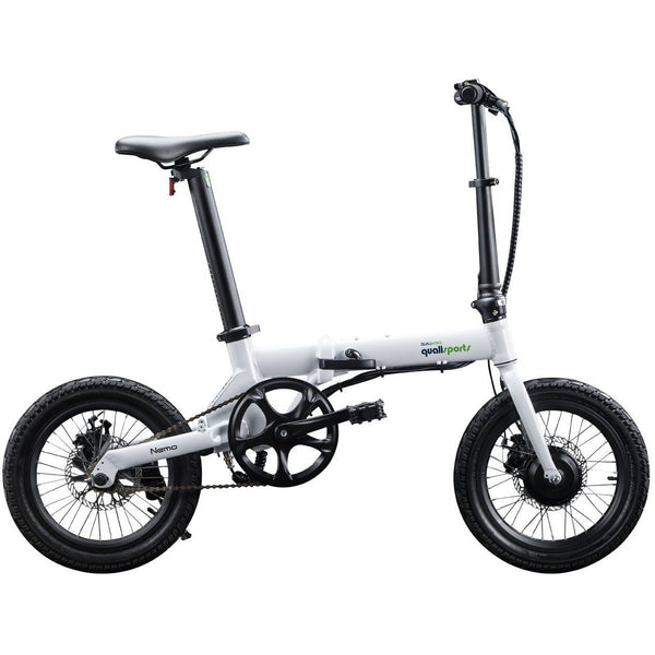 Ebike - Qualisports Nemo 36V 250W Folding Cruiser Electric Bike