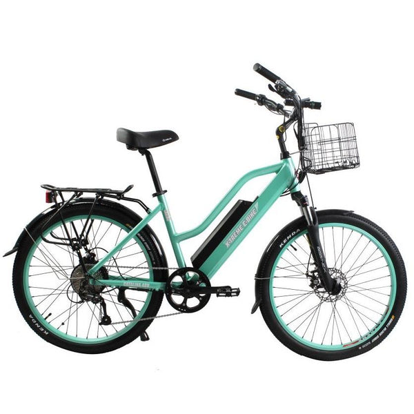 Ebike - X-Treme Catalina 48V 500W Step Through Beach Cruiser Electric Bike