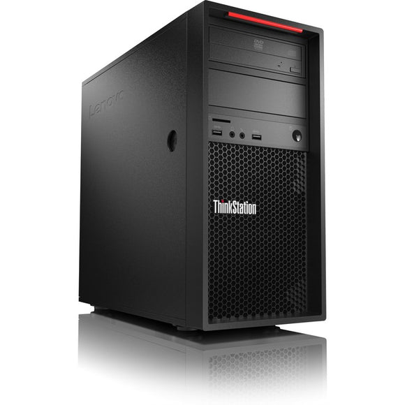 Lenovo ThinkStation P520c 30BX003MUS Workstation - 1 x Xeon W-2125 - 16 GB RAM - 512 GB SSD