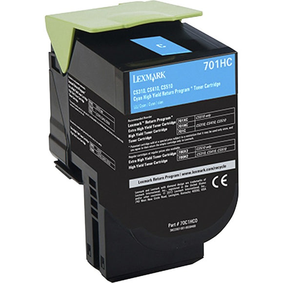 Lexmark 701HC Toner Cartridge