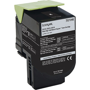 Lexmark Unison 701HK Toner Cartridge