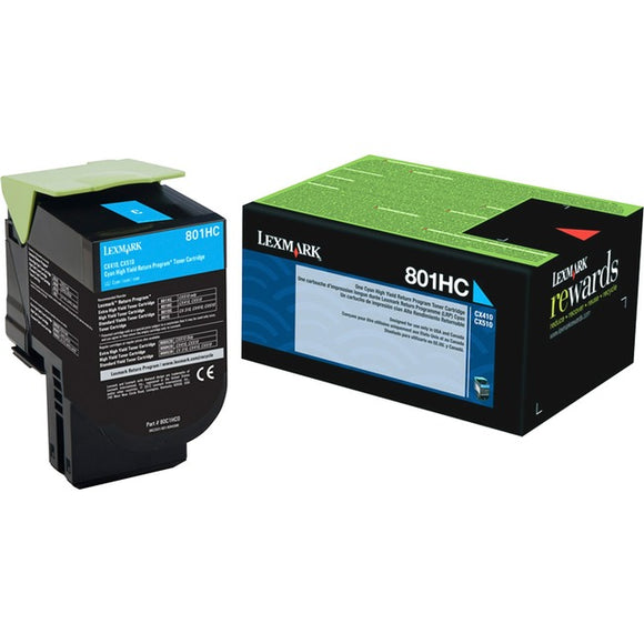 Lexmark Unison 801HC Toner Cartridge