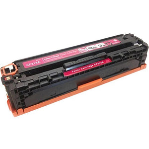 eReplacements CF213A-ER Remanufactured Magenta Toner for HP CF213A, 131A