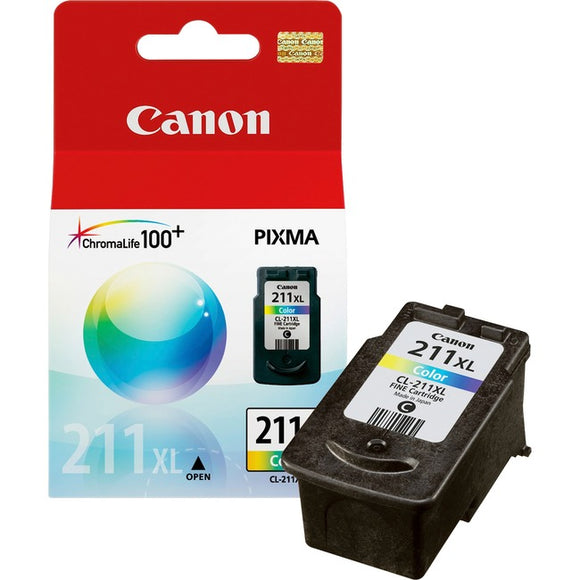 Canon CL-211XL Ink Cartridge - Cyan, Magenta, Yellow